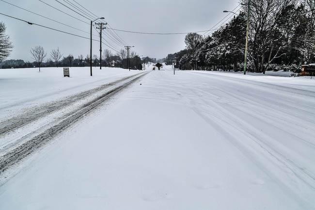 Charlotte NC Snowstorm Feb. 2014