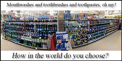 how to choose a toothpaste or toothbrush by Charlotte dentist Dr. Payet