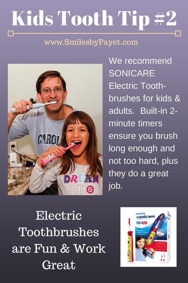 Kids Tooth Tip #2: Electric Toothbrushes Rule