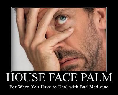 When doctors facepalm