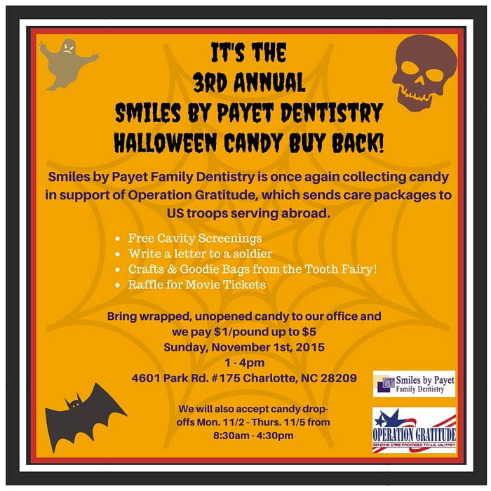 2015 Halloween Candy Buy Back!