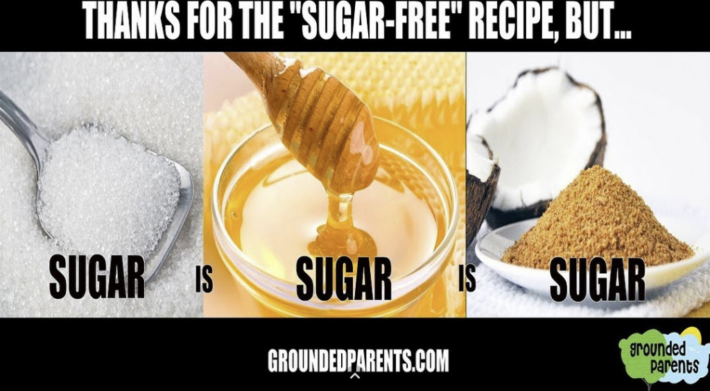 Sugar is sugar, regardless of organic or gmo