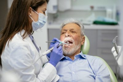 dental check-up and cleaning